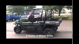 5. A little about the 2015 Kawasaki Mule Pro FXT