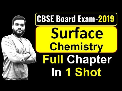 (Board Exam) || Surface Chemistry || Revise in 1 Video || By Arvind Arora
