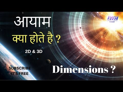 आयाम क्या होते है ? What is the Dimension ? | Explained in Hindi |
