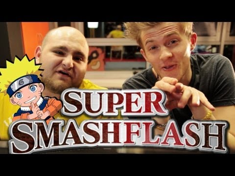 Super Smash FLASH mit ekelhafter Bestrafung! - Gametime