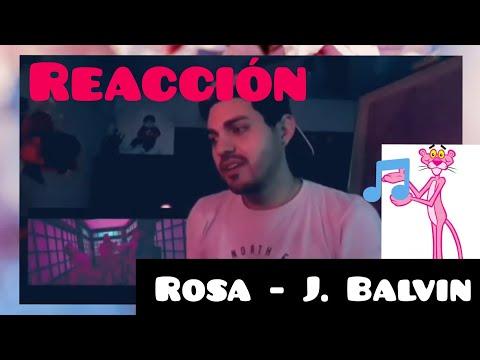 🔥 Reacción a ROSA de J. Balvin - Análisis visual 🔥