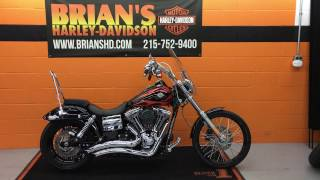 3. 2014 Harley Davidson FXDWG Dyna Wide Glide For Sale