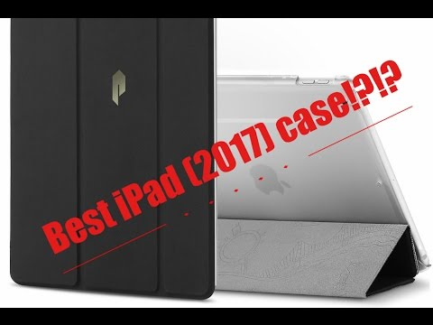 Poetic Slimline Slim-Fit Trifold Cover Stand Folio Case for iPad (2017)