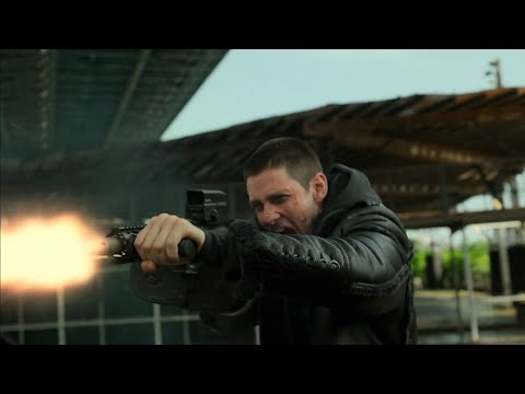 The Punisher S2E8 - Jigsaw vs. Frank Shootout Scene (HD 1080p)