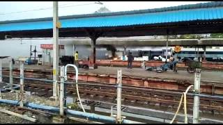 DP at Nagpur Railway Station catches fire due to short circuit