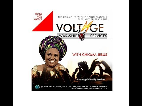COZA Praise and Love Voltage War-ship Service With Chioma Jesus