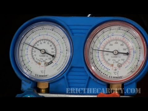 How To Recharge an AC System – EricTheCarGuy