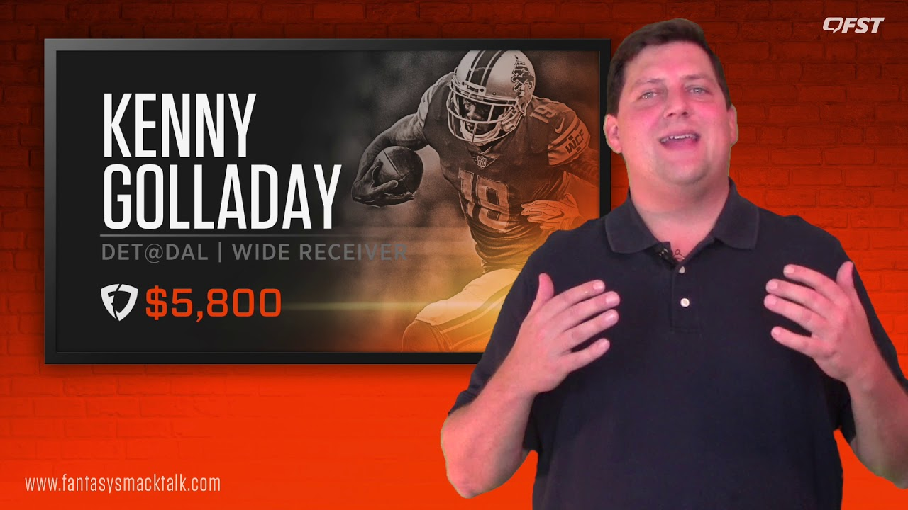 Daily Fantasy Football: Week 4 FanDuel Value Picks thumbnail
