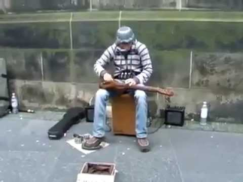 Unknown: Street Musician Cool Tune