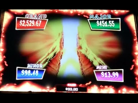 Jackpot Explosion Super Big Win Progressive Win Vampire's Embrace WMS Slot Machine