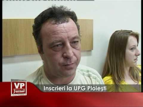 Inscrieri la UPG Ploiesti