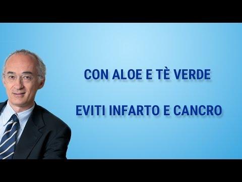 dott. caprioglio - aloe e tè verde contro infarto e cancro