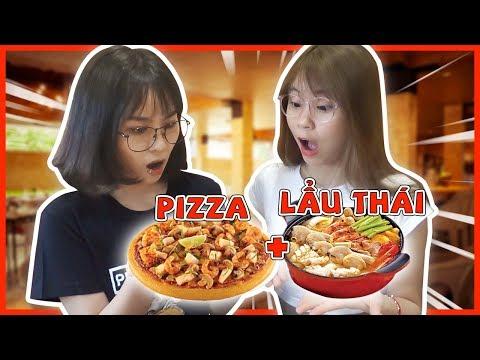 Pizza lẩu tomyum. Misthy và Xía kể chuyện đánh rắm khi ăn cùng crush || MISTHY VÀ CÁC BẠN - Thời lượng: 13 phút.