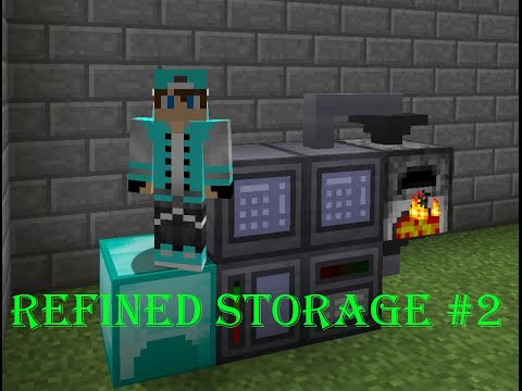 Refined Storage Tutorial #2 - Autocrafting [German/Deutsch]