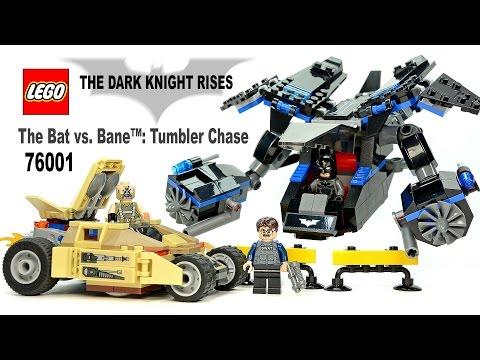 Lego 76001 Neuf En Boite Batman The Bat Vs Bane Tumbler Chase