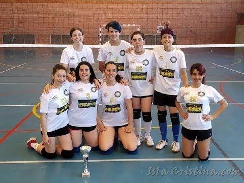 Fase final La provincia en juego. Club Voleibol Isla Cristina vs CV. Valverde