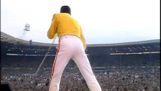 Video Queen - One Vision (Live at Wembley) MP3, 3GP, MP4, WEBM, AVI, FLV Mei 2018