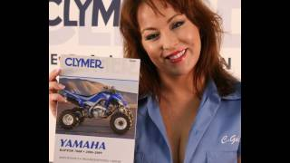 5. Clymer Manuals Yamaha Raptor 700R 700 ATV Quad Four Wheeler Shop Service Repair Manual Video