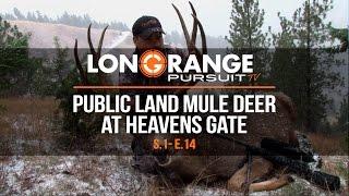 Video Long Range Pursuit | S1 E14 Public Land Mule Deer at Heavens Gate MP3, 3GP, MP4, WEBM, AVI, FLV Mei 2017