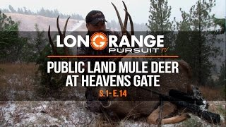 Video Long Range Pursuit   S1 E14 Public Land Mule Deer at Heavens Gate MP3, 3GP, MP4, WEBM, AVI, FLV November 2017