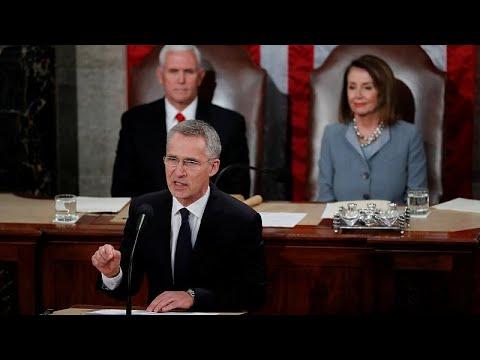 Ιστορική ομιλία Στόλτενμπεργκ στο αμερικανικό Κογκρέσο…
