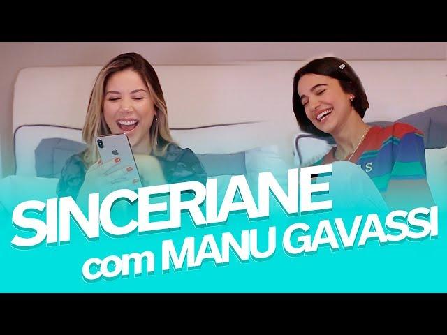 SINCERIANE com Manu Gavassi - Primeiro beijo, traições e mais! - Mica Rocha