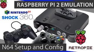 Complete RetroPie Tutorial - A beginners Guide to Setting up Nintendo 64 Emulation on RetroPie 2.6 / EmulationStation with the Raspberry Pi 2. This tutorial ...