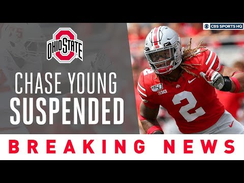 Ohio State star Chase Young SUSPENDED for possible NCAA violation | CBS Sports HQ