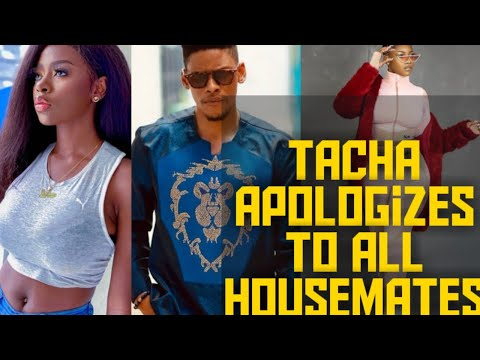 SHOCKING! TACHA APOLOGIZES TO ALL HOUSEMATES    DIANE AND ELO BREAKUP   MERCY AND TACHA GET FRIENDLY