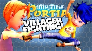 Josh uses the money from sparring Villagers to go into the Abandoned Ruins to search for Copper, Tin and Relics! When he has enough he can build a bridge!Download My Time in Portia alpha for free:https://patheagames.itch.io/my-time-at-portia?ac=ox5j9VQFYou might also enjoy My Little Blacksmith Shop:https://youtube.com/playlist?list=PLX1cB1BI8l6k5aXFClKo_5ZnMon3eCEUyMy Time at Portia is a Stardew Valley Harvest Moon style game where instead of carrots, you build vehicles and collect resources to craft a bigger house and workshop for yourself! My Time at Portia lets you build relationships with other town members too!My Time at Portia is a simulation open world RPG game. The world is set in a post-apocalypse. Humans are few and relics from the past are everywhere. The player will need to start a new life in a town on the edge of civilization called Portia. The player will start a workshop and build things with relics from the past for the betterment of society. The goal of the game is to make the workshop as big as possible.Characters will go to school, do their jobs, workout, and have fun. They also have unique stories for the player to experience. The player will be able to get into relationships with other characters, be them friendships or romances. Romances can end in marriages.Players can gather materials from an open world. Cut down tree, pick up herbs, mine in ruins, even plant your own garden. There are vast areas for the player to explore around Portia. Deserts, islands, reefs, highlands, marshlands, and more! Each area bringing their own unique items and monsters. There are two different types of dungeons in this game. Players can gather relics and ores from the abandoned dungeons, and fight off monsters to gain look in the hazardous dungeons.---➤Buy a Shirt! - http://shop.spreadshirt.com/GamingFTL➤Support Josh's video creation - http://www.patreon.com/GamingFTL➤Stalk me on Twitter - https://twitter.com/GamingFTL➤Join the Discord community -  https://discor