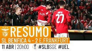 Video HIGHLIGHTS: SL Benfica 4-2 Eintracht Frankfurt MP3, 3GP, MP4, WEBM, AVI, FLV April 2019