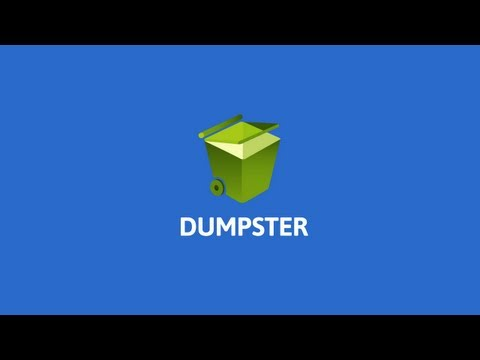 Video of Dumpster - Recycle Bin