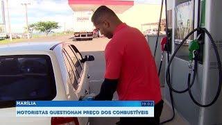 Marília: motoristas acionam o Procon para fiscalizar aumento no preço dos combustíveis
