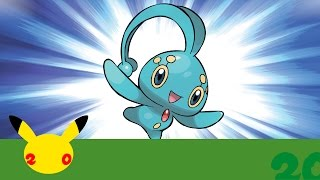 UK: Celebrate #Pokemon20 with the Mythical Pokémon Manaphy! by The Official Pokémon Channel