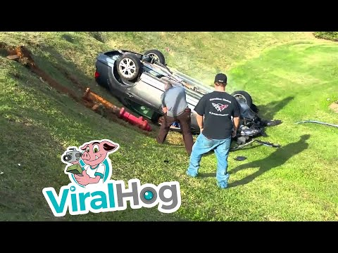 Video Woman does donuts and rams police car in Gastonia NC intersection || ViralHog download in MP3, 3GP, MP4, WEBM, AVI, FLV January 2017