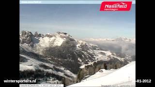 Nassfeld-Hermagor Zweikofel webcam time lapse 2011-2012
