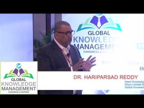 Global Knowledge Management Congress & Awards 2016 - DR. HARIPARSAD REDDY