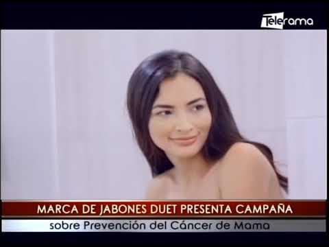 Marca de jabones Duet presenta campaña sobre prevención de cáncer de mama