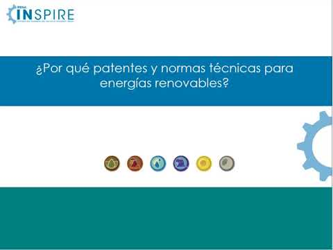 The latest technological advances in renewable energies using IRENA's INSPIRE (Spanish)