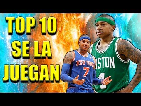 TOP 10 JUGADORES QUE SE LA JUEGAN ESTE AÑO