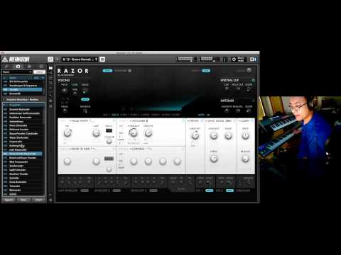 PROJECT PRESET – Native Instruments Razor 7 – Vocoder