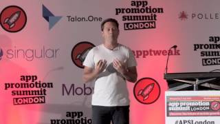 More at http://apppromotionsummit.comRyan Hanna, Vp Of Product & Engineering at Sworkit spoke at App Promotion Summit London on the topic of 'How We Bootstrapped Our Way To 25m Downloads'