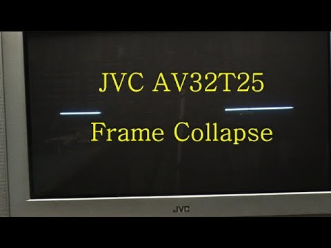 how to repair j v c tv