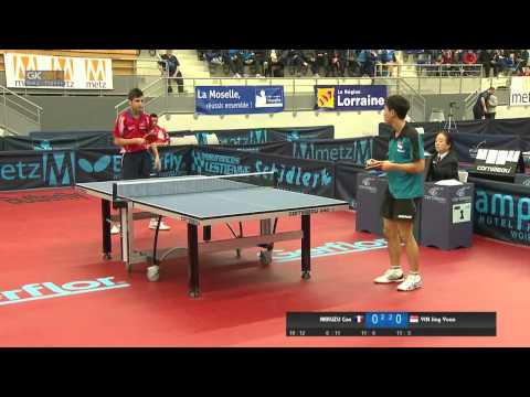 Junior - Watch FAKKUZU Can (FRA) play YIN Jing Yuan (SIN) in the 2014 French Junior & Cadet Open Junior Boys Final.