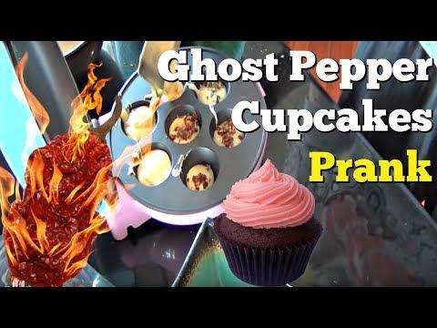 Ghost Pepper CupCake Prank