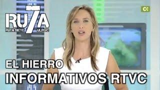 El Pinar del Hierro Spain  city images : RU7A 2013 - Actividades en El Pinar (El Hierro) RTVC Telenoticias 1