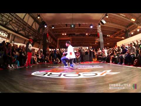 FSTV l Eurobattle 2014 l UK Qualifiers l BBoying l Final - Angel vs Colloseus.