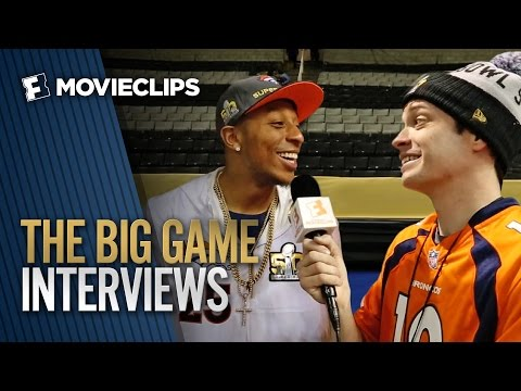 MOVIECLIPS @ The Big Game – NFL Players Talk Movies (2016) HD