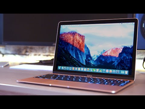 ROSE GOLD MACBOOK UNBOXING & REVIEW!