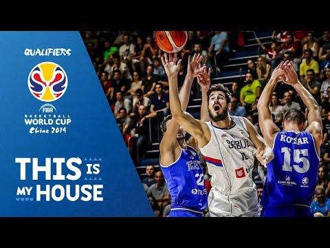Serbia v Estonia - Highlights - FIBA Basketball World Cup 2019 - European Qualifiers
